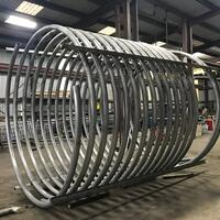 3'' S/10 Stainless Steel Helical Coil