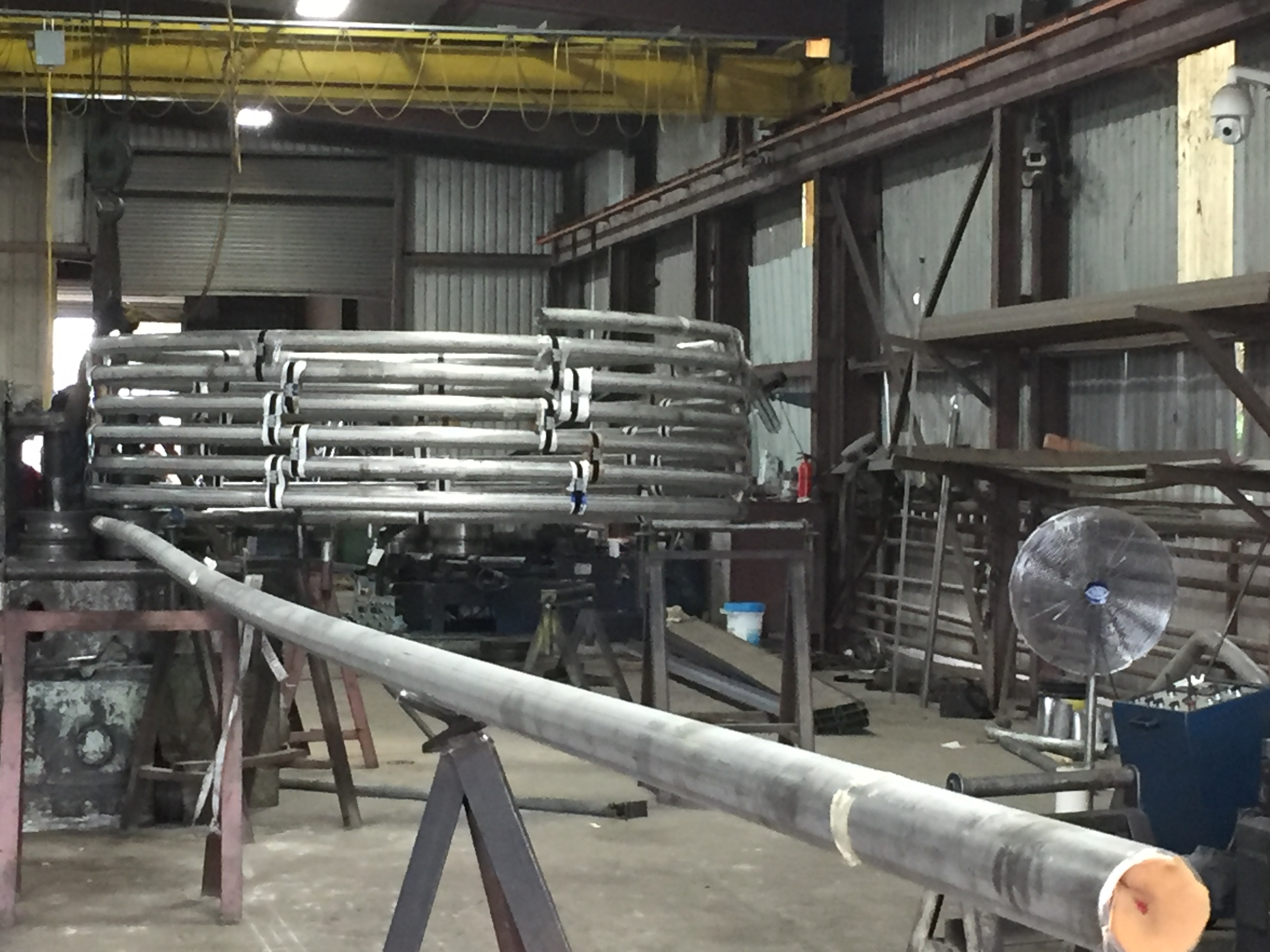 Helical Spiral Steel Bending